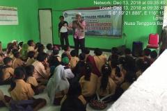 Pusat Penelitian dan Pengabdian Masyarakat (P3M) UNAS bersama Direktorat Kementerian Pendidikan dan Kebudayaan telah mewujudkan Peduli Lombok, NTB (12)