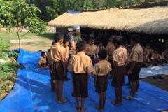 Pusat Penelitian dan Pengabdian Masyarakat (P3M) UNAS bersama Direktorat Kementerian Pendidikan dan Kebudayaan telah mewujudkan Peduli Lombok, NTB (14)