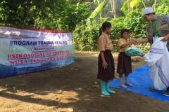 Pusat Penelitian dan Pengabdian Masyarakat (P3M) UNAS bersama Direktorat Kementerian Pendidikan dan Kebudayaan telah mewujudkan Peduli Lombok, NTB (16)