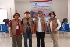 Pusat Penelitian dan Pengabdian Masyarakat (P3M) UNAS bersama Direktorat Kementerian Pendidikan dan Kebudayaan telah mewujudkan Peduli Lombok, NTB (3)