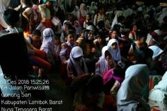 Pusat Penelitian dan Pengabdian Masyarakat (P3M) UNAS bersama Direktorat Kementerian Pendidikan dan Kebudayaan telah mewujudkan Peduli Lombok, NTB (6)