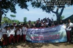Pusat Penelitian dan Pengabdian Masyarakat (P3M) UNAS bersama Direktorat Kementerian Pendidikan dan Kebudayaan telah mewujudkan Peduli Lombok, NTB (9)