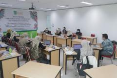 """Rapat Kerja Fakultas Ilmu Kesehatan Universitas Nasional """"Meningkatkan Kualitas Tridharma Perguruan Tinggi di Lingkungan Fakultas Ilmu Kesehatan Universitas Nasional pada Senin. Selasa, dan Rabu (8-10/3) di Menara 2 Unas"""