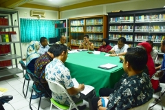 Rapimtas UNAS dengan Fakultas Hukum