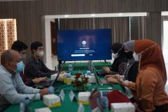 Para Ketua Program Studi sedang presentasi kurikulum MBKM