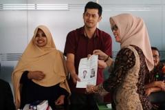 Surat suara dalam Pemilihan dekan fisip periode 2019-2023