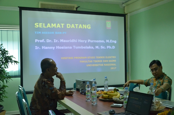 presentasi borang oleh teknik elektro