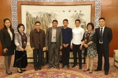 Rektor UNAS, Dr El Amry Bermawi Putera MA, Adakan kunjungan kehormatan dgn pimpinan tertinggi Guang Xi University for Nationalities Pada 25 Nov 2018  (3)
