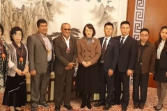 Rektor UNAS, Dr El Amry Bermawi Putera MA, Adakan kunjungan kehormatan dgn pimpinan tertinggi Guang Xi University for Nationalities Pada 25 Nov 2018  (6)