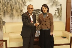 Rektor UNAS, Dr El Amry Bermawi Putera MA, Adakan kunjungan kehormatan dgn pimpinan tertinggi Guang Xi University for Nationalities Pada 25 Nov 2018  (7)