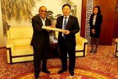 Rektor UNAS, Dr El Amry Bermawi Putera MA, Adakan kunjungan kehormatan dgn pimpinan tertinggi Guang Xi University for Nationalities Pada 25 Nov 2018  (8)