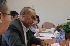Rektor UNAS, Dr El Amry Bermawi Putera MA, Adakan kunjungan kehormatan dgn pimpinan tertinggi Guang Xi University for Nationalities Pada 25 Nov 2018  (10)