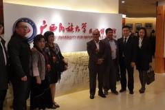 Rektor UNAS, Dr El Amry Bermawi Putera MA, Adakan kunjungan kehormatan dgn pimpinan tertinggi Guang Xi University for Nationalities Pada 25 Nov 2018  (4)