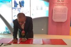 Rektor UNAS, Dr El Amry Bermawi Putera MA, Adakan kunjungan kehormatan dgn pimpinan tertinggi Guang Xi University for Nationalities Pada 25 Nov 2018  (5)