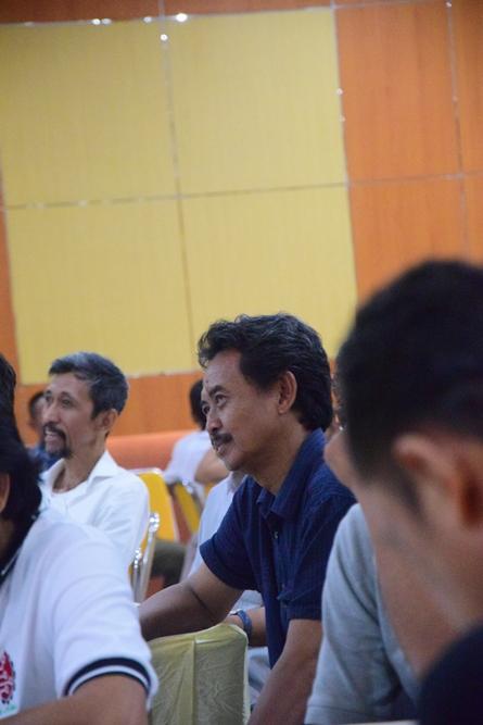 Para peserta reuni akbar dan buka puasa pertama 2