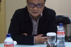 Drs. Firdaus Syam, MA., PhD. dalam acara Roadshow di Republika
