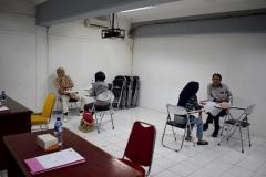 Seleksi Beasiswa Bidikmisi oleh Biro Administrasi Kemahasiswaan pada Selasa (6/7) di Ruang 1. 001/ Basement/ Blok 1