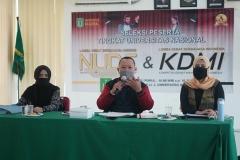 Tim Juri saat memberikan komentar terhadap penampilan peserta KDMI