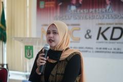 Tim juri KDMI 2020 yang juga Dosen Fakultas Ekonomi dan Bisnis Universitas Nasional Muhani, S.E., M.Si.M.