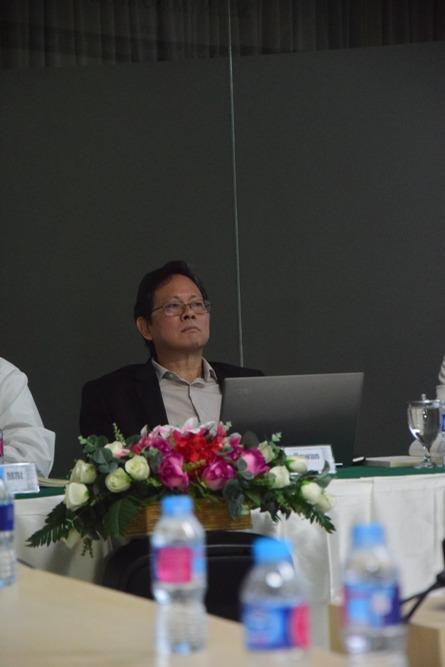 Pembicara (Prof. Dr. Anthony Budiawan)