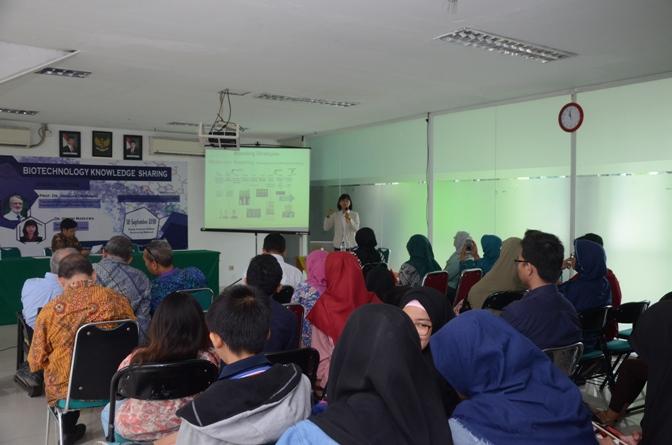 Seminar Biotechnology Knowledge Sharing Di UNAS (6)