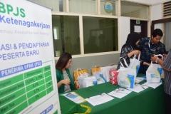 Seminar BPJS Ketenagakerjaan di UNAS (1)