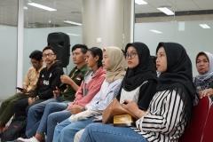Peserta seminar Community Development