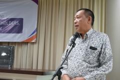 Wakil Rektor Bidang Kemahasiswaan Dr. Drs. Zainul Djumadin, M.Si