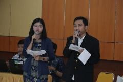 """Master Of Ceremonial pada acara seminar  nasional """"Internet Of Things For Industrial Revolution 4.0 """", di Auditorium Blok 1 lantai 4 UNAS, Jakarta, Kamis (4/4)"""
