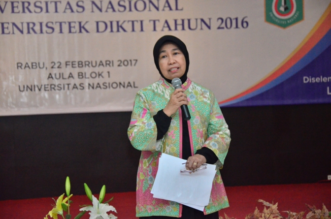 Prof. Ernawati Sinaga Ketua Seminar Hibah