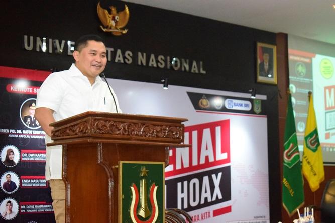 Keynote Speaker Brigjend Pol. Dr.M. Fadil Imran, M.Si