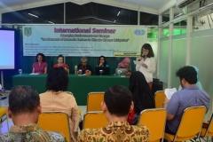 Pembukaan acara seminar Internasional
