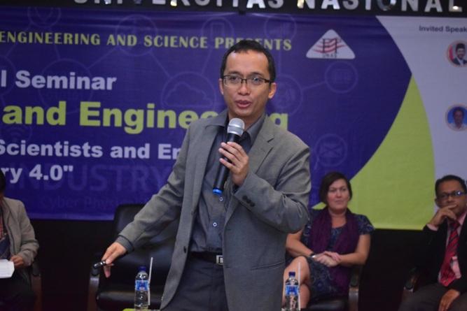 Assoc. Prof. Tegoeh Tjahjowidodo dari Nanyang Technological University, Sinagpura (2)
