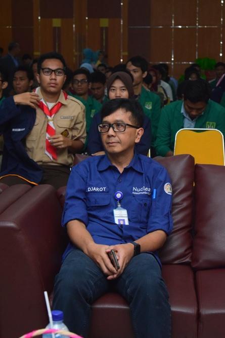 Prof. Dr. Djarot dari Badan Tenaga Nuklir Nasional