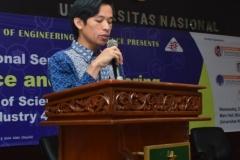 Dosen Universitas Naasional (Agung Iswadi, M.Si)