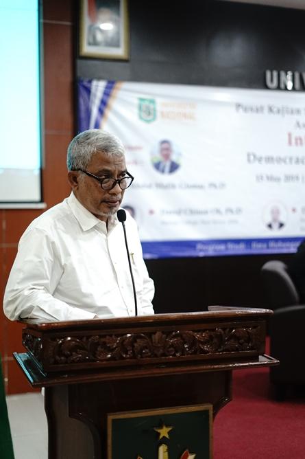 Koordinator Program S3 Ilmu Politik Dr. TB. Massa Djafar, MSi.