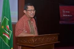 Dekan Fakultas Ekonomi Dr Suryono Efendi, SE.,MM. Saat Sambutan