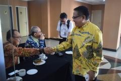 Bapak Mujib Sekretaris FPG saat menghadiri seminar kebangsaan di hotel bumiwiata