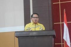 Bapak Mujib saat sedang memberikan materi dalam acara seminar
