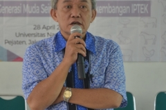 Dekan Fakultas Biologi Drs. Imran Said Lumban Tobing, M.Si