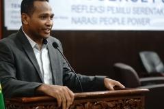 Dekan Fakultas Hukum Universitas Nasional Dr. Ismail Rumadan, S.Ag., M.H.