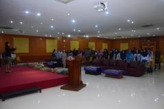 Saat menyanyikan lagu Indonesia Raya (4)