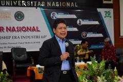 Staff Khusus Rektor Bidang Kerjasama Dunia Usaha & Industri Universitas Nasional Ir. Abdul Wahab Bangkona, M.S.c.,