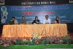 Suasana saat seminar nasional