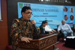 Pakar Hukum Universitas Nasional Dr. Azmi Syahputra S.H., M.H