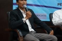 Direktur Eksekutif Gajah Mada Analitika/ Moderator Herman Dirgantara