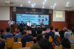 "Seminar Nasional ""Makar : Antara Kebebasan Berpendapat VS Penafsiran Hukum, Senin (8/7) di Aula Blok 1 lantai 4 UNAS."