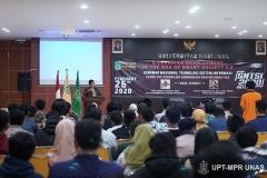 """Seminar Nasional Teknologi Sistem Informasi """"E-Learning Development In The Era Of Smart Society 5.0"""" pada Rabu (26/2) di Auditorium blok 1 lantai 4 Unas"""