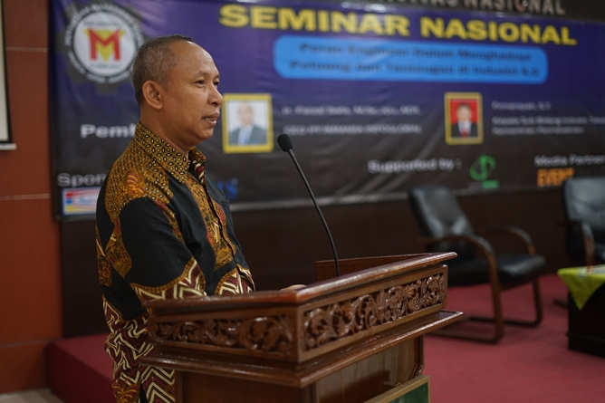 Ketua Program Studi Teknik Mesin Asmawi, S.T., M.T.