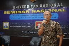 Perwakilan PT. IMMARA Infoglobal Ir. Junianto Yuristiono IPM